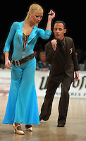 Tanz-WM 2010 - Profi Standard Kür - WDC World Championships Dance Show Standard - (18.12.2010 in Leipzig / Neue Messe) - im Bild: Gherman Mustuc und Iveta Lukosiute (USA) bei Kür. Foto: Norman Rembarz ..Credits:.Norman Rembarz , Autorennummer 41043728 , Augustenstr. 2, 04317 Leipzig, Tel.: 01794887569, Hypovereinsbank: BLZ: 86020086, KN: 357889472, St.Nr.: 231/261/06432 - Jegliche kommerzielle Nutzung ist honorar- und mehrwertsteuerpflichtig! Persönlichkeitsrechte sind zu wahren. Es wird keine Haftung übernommen bei Verletzung von Rechten Dritter. Autoren-Nennung gem. §13 UrhGes. wird verlangt. Weitergabe an Dritte nur nach  vorheriger Absprache..Online Nutzung ist seperat kostenpflichtig !!!!