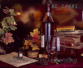 Interlitho-Alberto, STILL LIFE STILLEBEN, NATURALEZA MORTA, paintings+++++,wine,KL16481,#i#, EVERYDAY ,masculin,red wine,spirits