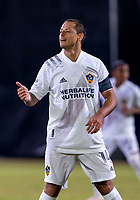 13th July 2020, Orlando, Florida, USA;  Hernandez of LA gives his team mates a thumbs up as he scores for 1-2 in the 88th minute during the MLS Is Back Tournament between the LA Galaxy versus Portland Timbers on July 13, 2020 at the ESPN Wide World of Sports, Orlando FL.