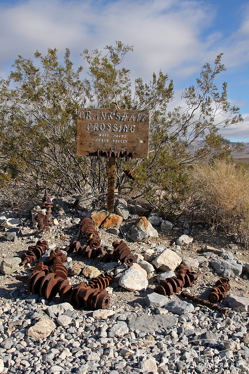 Crankshaft Crossing is located on the northern end of Death Valley National Park, on Death Valley Road \ Big Pine Valley Road.