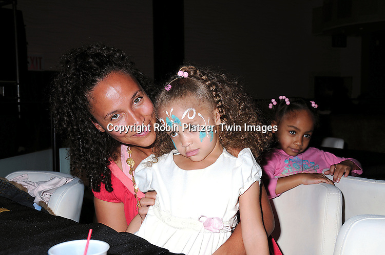 Yvonna Wright and daughters Lola and Marley..at The Love Our Children USA National Love Our Children Day on April 5, 2008 at Spotlight Live in New York City which was hosted by Cameron Mathison. ....Robin Platzer, Twin Images