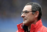 Napoli&rsquo;s coach Maurizio Sarri waits for the start of the Italian Serie A football match between Roma and Napoli at Rome's Olympic stadium, 4 March 2017. <br /> UPDATE IMAGES PRESS/Isabella Bonotto