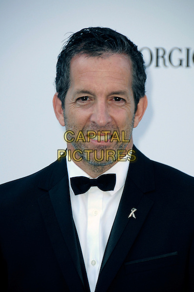 KENETH COLE .arrivals at amfAR's Cinema Against AIDS 2010 benefit gala at the Hotel du Cap, Antibes, Cannes, France during the Cannes Film Festival.20th May 2010.amfar portrait headshot black tuxedo bow tie smiling beard facial hair stubble white shirt tux .CAP/CAS.©Bob Cass/Capital Pictures.