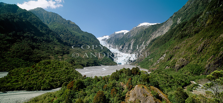 Franz Josef Glacier. Westland National Park. New Zealand.