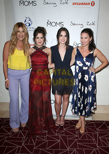 WEST HOLLYWOOD, CA - JULY 10: Denise Albert, Laura Marano, Vanessa Marano, Melissa Gerstein, at The Makers of Sylvania host a Mamarazzi event at The London Hotel in West Hollywood, California on July 10, 2019. <br /> CAP/MPIFS<br /> ©MPIFS/Capital Pictures