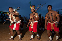 XI Jogos dos Povos Indígenas -  Indios Xerentes do TO<br /> .O evento, que acontece entre os dias 5 e 12 de novembro, tem como sede o município tocantinense de Porto Nacional, que fica a cerca de 60km da capital, Palmas. São sete dias de competições e apresentações culturais, com a participação de cerca de 1.300 indígenas, de aproximadamente 35 etnias, vindas de todas as regiões do país. São esperados ainda líderes e observadores indígenas de outros países (Argentina, Austrália, Bolívia, Canadá, Equador, EUA, Guiana Francesa, Peru e Venezuela). Foto Paulo Santos10/11/2011Ilha de Porto Real, Porto Nacional, Brasil