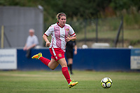 Chloe Gunn of Stevenage Ladies during the pre season friendly match between Stevenage Ladies FC and Watford Ladies at The County Ground, Letchworth Garden City, England on 16 July 2017. Photo by Andy Rowland / PRiME Media Images.