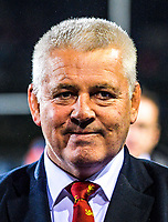 Lions head coach Warren Gatland after the 2017 DHL Lions Series rugby union match between the NZ Maori and British & Irish Lions at Rotorua International Stadium in Rotorua, New Zealand on Saturday, 17 June 2017. Photo: Dave Lintott / lintottphoto.co.nz