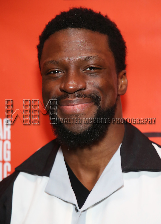 Michael Luwoye attends the Second Stage Theatre 2018 Bowling Classic at Lucky Strike  on February 12, 2018 in New York City.
