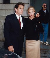 New York City<br /> 1996 <br /> John Kennedy Jr. Carolyn Bisette<br /> Photo By John Barrett-PHOTOlink.net/MediaPunch