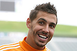19 November 2011: Geoff Cameron. The Houston Dynamo held a practice session at the Home Depot Center in Carson, CA one day before playing in MLS Cup 2011.