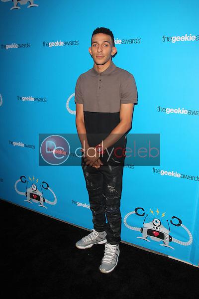 Khleo Thomas<br /> at the 2015 Geekie Awards, Club Nokia, Los Angeles, CA 10-15-15<br /> David Edwards/Dailyceleb.com 818-249-4998