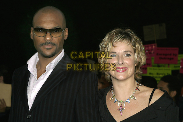 COLIN SALMON.MOBO Awards 2004 - Arrivals, Royal Albert Hall.September 30th, 2004.headshot, portrait, sunglasses, shades.www.capitalpictures.com.sales@capitalpictures.com.© Capital Pictures.