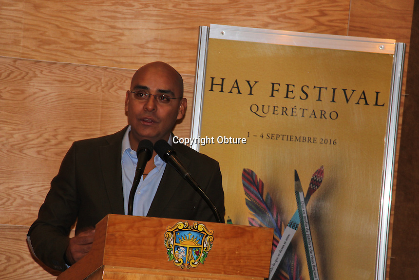 Quer&eacute;taro, Qro. 20 de julio de 2016.- Anuncia el municipio capitalino los detalles del llamada Hay Festival; en donde se reunir&aacute;n talentosos escritores.<br /> <br /> Foto: Obture.