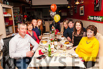 50th Birthday: Mike Kennelly, Liselton celebrating his 50th birthday with family at eabha Joan's Restaurant, Listowel on Saturday night last. L-R: Mike, Nora, John, Sarah, Anne, Eddie, Mary & Maureen Kennelly.