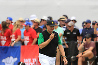 Ernie Els (International Team Captain) on the 10th fairway during the Second Round - Foursomes of the Presidents Cup 2019, Royal Melbourne Golf Club, Melbourne, Victoria, Australia. 13/12/2019.<br /> Picture Thos Caffrey / Golffile.ie<br /> <br /> All photo usage must carry mandatory copyright credit (© Golffile | Thos Caffrey)