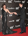 Mila Jovovich & husband at The Montblanc Signature for Good Charity Gala benefiting Unicef held at Paramount Studios in Hollywood, California on February 20,2009                                                                     Copyright 2008 Debbie VanStory/RockinExposures