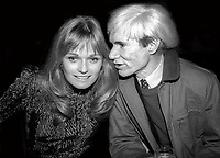 Valery Perrine Andy Warhol Undated<br /> Photo By Adam Scull/PHOTOlink.net