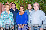 TRIBUTE: A tribute and benfit night was held at To?char Ba?n  Bar, Kilmoyley for Tim O'Brien-Curran on Friday night attending were some of Tim's family. L-r: Bridie Curran, James Curran, Margaret Foley, Mike and Michael Curran.......