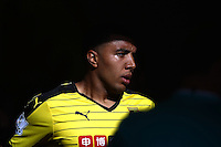 Troy Deeney of Watford   during the Barclays Premier League match Watford and Swansea   played at Vicarage Road Stadium , Watford