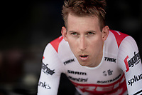 Bauke Mollema (NED/Trek-Segafredo) warming up for the TTT<br /> <br /> Stage 2 (TTT): Brussels to Brussels (BEL/28km) <br /> 106th Tour de France 2019 (2.UWT)<br /> <br /> ©kramon