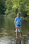 Issac's Pre-Bar Mitzvah Portraits in the Rockefeller Preserve.<br />