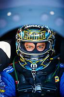Jul 28, 2017; Sonoma, CA, USA; NHRA funny car driver Matt Hagan during qualifying for the Sonoma Nationals at Sonoma Raceway. Mandatory Credit: Mark J. Rebilas-USA TODAY Sports