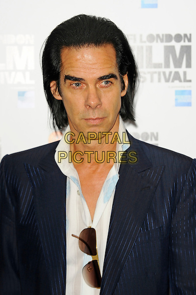 LONDON, ENGLAND - OCTOBER 18: Nick Cave attends 'Far From Men' Screening at the 58th BFI London Film Festival at Vue West End Cinema, Leicester Square on October 18, 2014 in London, England.<br /> CAP/MAR<br /> &copy; Martin Harris/Capital Pictures