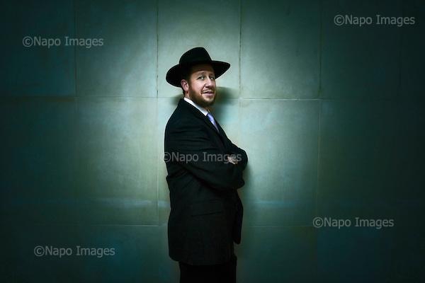 Warsaw 04 February 2009 Poland<br /> Rabbi Yitzchak Schocheta chairman of Mill Hill Synagogue in London<br /> (photo by Filip Cwik /Newsweek Polska / Napo Images)<br /> <br /> Warszawa 04 luty 2009 Polska.<br /> Rabin Yitzchak Schocheta jest jednym z najaktywniejszych zydowskich duchownych w Wielkiej Brytani. Jest przewodniczacym Synagogi w Mill Hill w Londynie<br /> (fot. Filip Cwik / Newsweek Polska / Napo images)