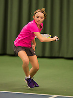 March 8, 2015, Netherlands, Rotterdam, TC Victoria, NOJK, Sanne Schalekamp (NED)<br /> Photo: Tennisimages/Henk Koster