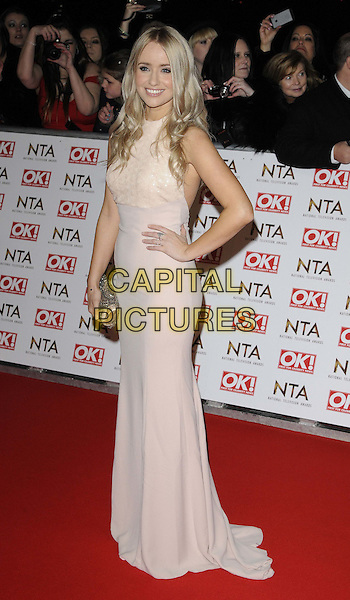 LONDON, ENGLAND - JANUARY 21: Sammy Winward attends the National TV Awards 2015, The O2 Arena, Millennium Way, Peninsula Square, Greenwich, on Wednesday January 21, 2015 in London, England, UK. <br /> CAP/CAN<br /> &copy;Can Nguyen/Capital Pictures