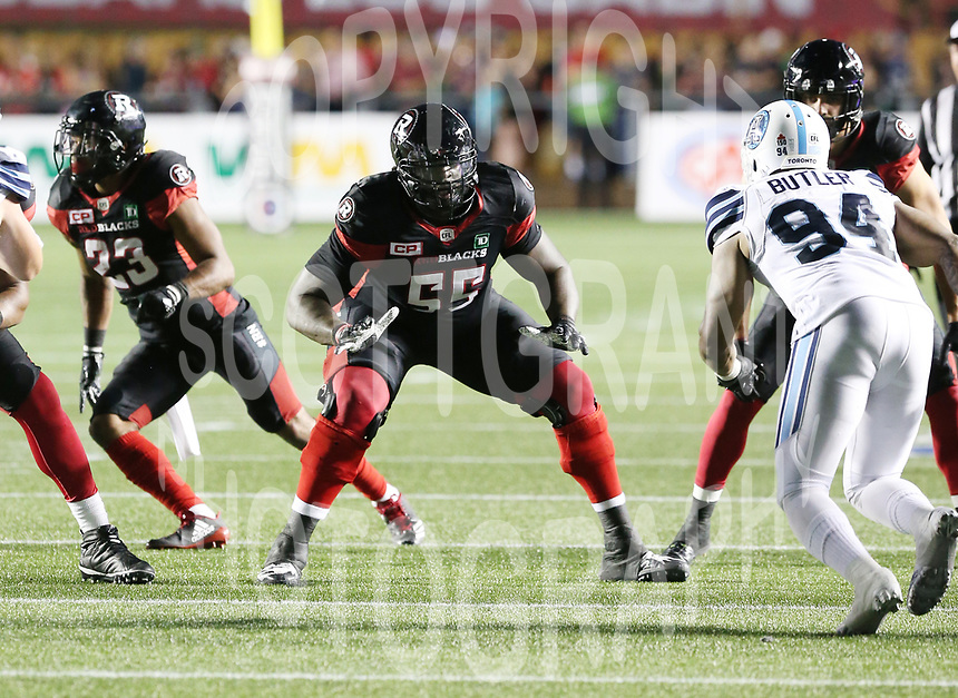 SirVincent Rogers Ottawa RedBlacks-8july2017-Photo: Scott Grant