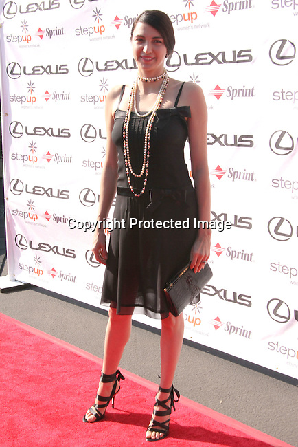 Shiva Rose<br />Step Up Women's Network Fourth Annual Fashion Forward Luncheon Presented By Lexus Featuring Andrew Gn <br />Greystone Mansion<br />Beverly Hills, CA.USA<br />Saturday, November 13, 2004<br />Photo By Celebrityvibe.com/Photovibe.com, <br />New York, USA, Phone 212 410 5354, <br />email:sales@celebrityvibe.com
