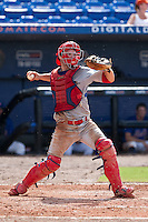 Tim Kennelly (23) of the Clearwater Threshers during a game vs. the St. Lucie Mets May 30 2010 at Digital Domain Park, Port St. Lucie Florida. St. Lucie won the game against Clearwater by the score of 3-2. Photo By Scott Jontes/Four Seam Images