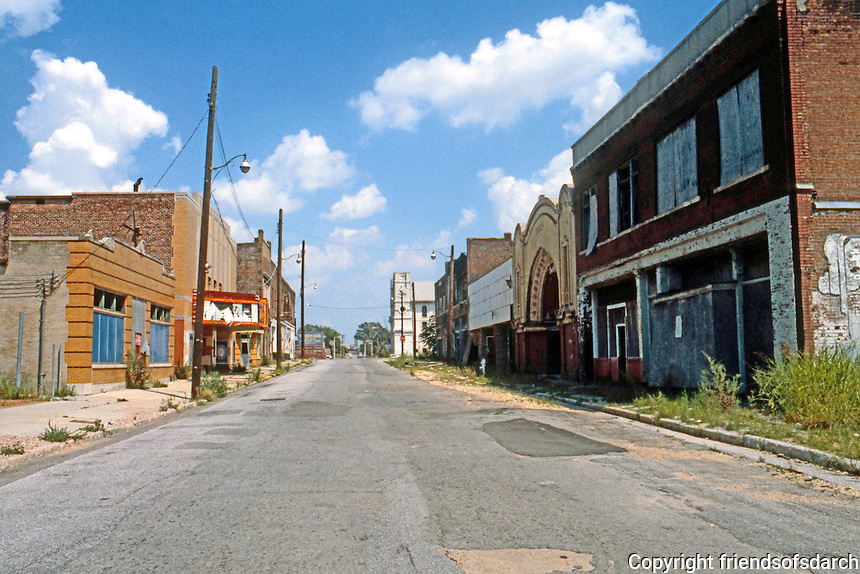 Memphis--Upper Beale St. Daisy Movie house on right.