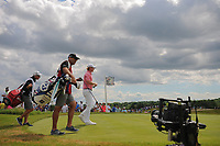 Brandt Snedeker (USA) departs the 7th tee during Sunday's round 4 of the 117th U.S. Open, at Erin Hills, Erin, Wisconsin. 6/18/2017.<br /> Picture: Golffile | Ken Murray<br /> <br /> <br /> All photo usage must carry mandatory copyright credit (&copy; Golffile | Ken Murray)