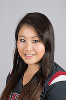 STANFORD, CA - Melissa Chuang of Stanford University Women's Gymnastics.