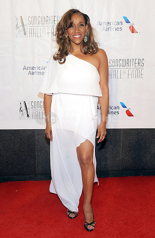 NEW YORK, NY - JUNE 09: Kathy Sledge attends the 47th Annual Songwriters Hall Of Fame Induction And Awards Gala at The New York Marriott Marquis on June 9, 2016 in New York City.  Photo Credit:John Palmer/ Media Punch