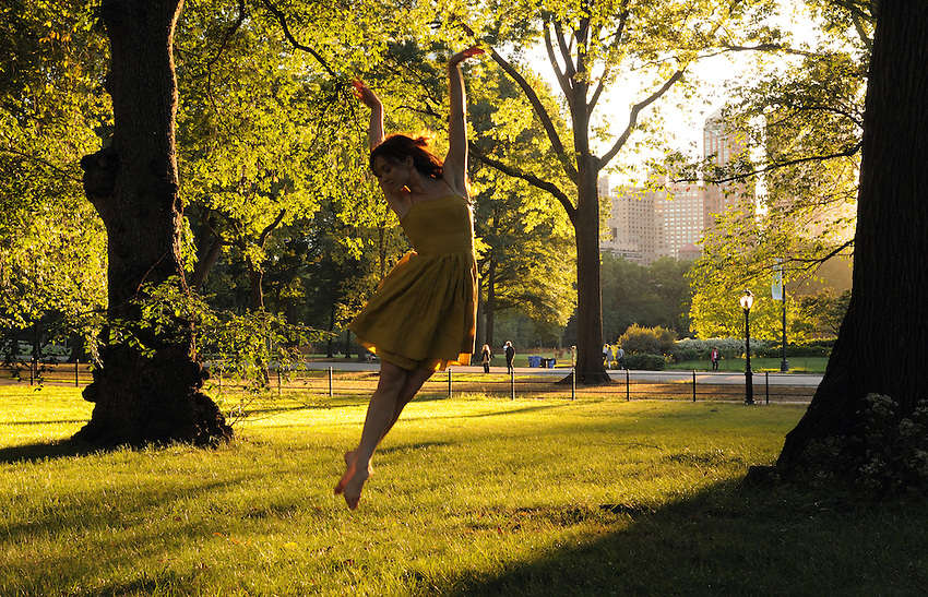 Gregory Holmgren, Dance, movement project, at Bethesda Terrace, Central Park, New York, New York, September 10, 2012.