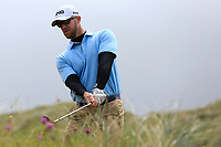 Peter O'Keeffe (Douglas) during the final of the  North of Ireland Amateur Championship, Portstewart Golf Club, Portstewart, Antrim,  Ireland. 12/07/2019<br /> Picture: Golffile | Fran Caffrey<br /> <br /> <br /> All photo usage must carry mandatory copyright credit (© Golffile | Fran Caffrey)