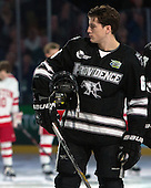 Tom Parisi (PC - 6) - The Providence College Friars defeated the Boston University Terriers 4-3 to win the national championship in the Frozen Four final at TD Garden on Saturday, April 11, 2015, in Boston, Massachusetts.