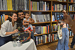 """CORAL GABLES, FL - JUNE 11: Author Luz Ortiz signs copies of her new book """" Luzia '' at Books and Books on Saturday June 11, 2016 in Coral Gables, Florida. ( Photo by Johnny Louis / jlnphotography.com )"""