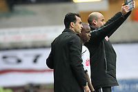 Pictured: Roberto Martínez Manager of Swansea City <br /> Re: Coca Cola Championship, Swansea City Football Club v Watford at the Liberty Stadium, Swansea, south Wales 09 November 2008.<br /> Picture by Dimitrios Legakis Photography (Athena Picture Agency), Swansea, 07815441513