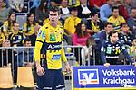 Rhein Neckar Loewe Andy Schmid (Nr.2)  beim Spiel in der Handball Bundesliga, Rhein Neckar Loewen - VfL Gummersbach.<br /> <br /> Foto &copy; PIX-Sportfotos *** Foto ist honorarpflichtig! *** Auf Anfrage in hoeherer Qualitaet/Aufloesung. Belegexemplar erbeten. Veroeffentlichung ausschliesslich fuer journalistisch-publizistische Zwecke. For editorial use only.