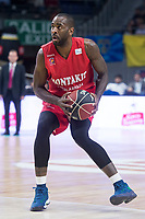 Montakit Fuenlabrada Christian Eyenga during Liga Endesa match between Movistar Estudiantes and Montakit Fuenlabrada at Wizink Center in Madrid, Spain. November 12, 2017. (ALTERPHOTOS/Borja B.Hojas) /NortePhoto.com