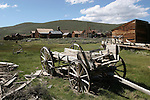 wagon at Bodie SHP