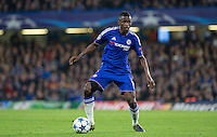 Ramires of Chelsea on the ball during the UEFA Champions League Group G match between Chelsea and Dynamo Kyiv at Stamford Bridge, London, England on 4 November 2015. Photo by Andy Rowland.