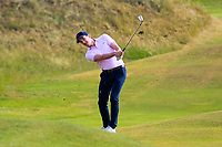 Richard Knightly (Royal Dublin) on the 14th during Round 3 of the East of Ireland Amateur Open Championship 2018 at Co. Louth Golf Club, Baltray, Co. Louth on Monday 4th June 2018.<br /> Picture:  Thos Caffrey / Golffile<br /> <br /> All photo usage must carry mandatory copyright credit (&copy; Golffile | Thos Caffrey