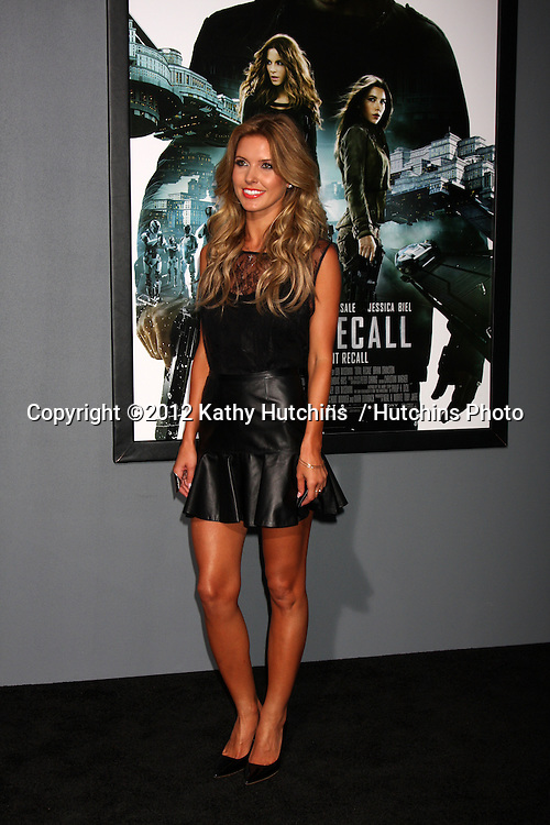 """LOS ANGELES - AUG 1:  Audrina Patridge arrives at the """"Total Recall"""" Premiere at Graumans Chinese Theater on August 1, 2012 in Los Angeles, CA"""