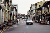 Singapore: Street in Chinatown.